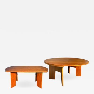 O H Sj grens M belfabrik A Danish Modern Birch Metamorphic Dining Table Mobelfabrik