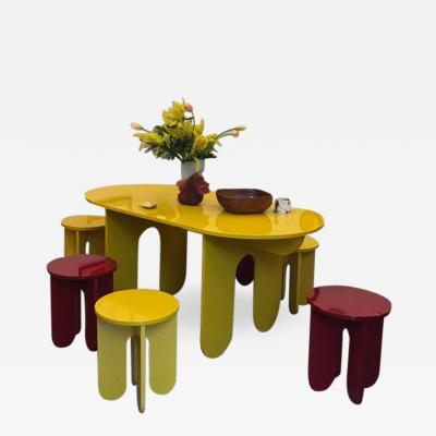 OWL Furniture Dining table stools side table for Arranging Things