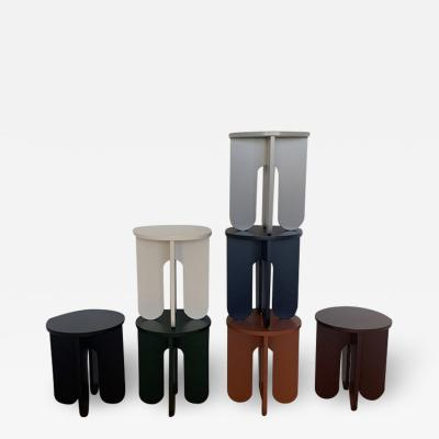 OWL Furniture Stool Side table base colors