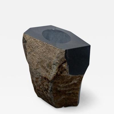 Okurayama Studio Sculptural Pot Dat Kan Stone Design by Okurayama