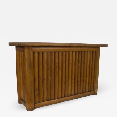 Old Hickory Furniture Co American Old Hickory style 1950s Pine Dry Bar