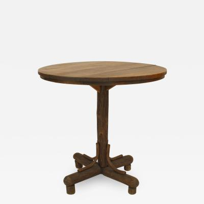Old Hickory Furniture Co American Rustic Old Hickory 1930s End Table