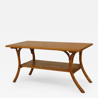 Old Hickory Furniture Co American Rustic Old Hickory 1940 50s Rectangular Coffee Table