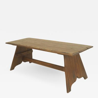 Old Hickory Furniture Co American Rustic Old Hickory Mission style Rectangular Coffee Table