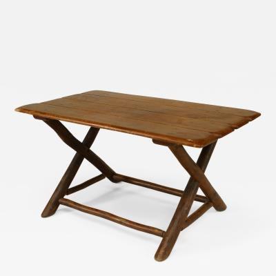 Old Hickory Furniture Co Rustic Old Hickory Coffee Table