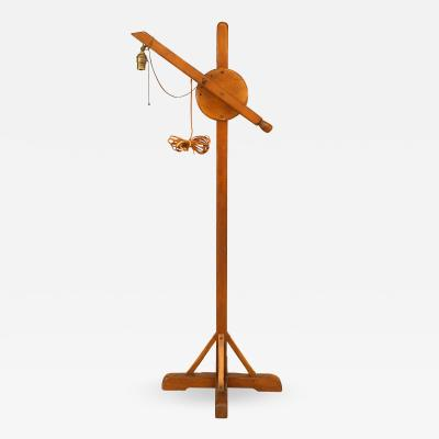 Old Hickory Furniture Co Rustic Old Hickory Pine Floor Lamp