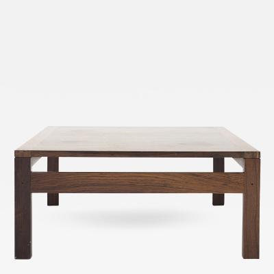Ole Gjerl v Knudsen Torben Lind Coffee Table in Rosewood
