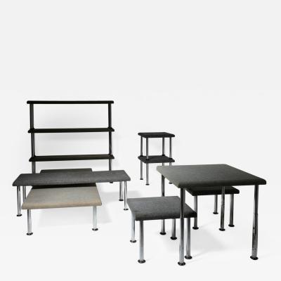Olivetti Set of 10 Pieces by Roberto Gabetti Aimaro Isola