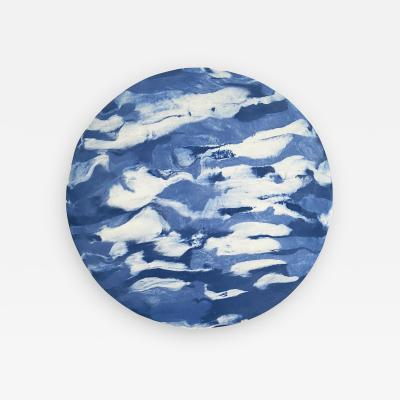 Olivia Barry By Hand Porcelain Wall Moon BLUEMOON365PC012