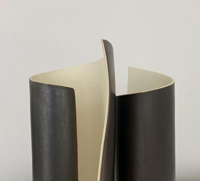 Olivia Barry By Hand Scroll Lumimaires No 181L027 No 181R028 Gunmetal glaze