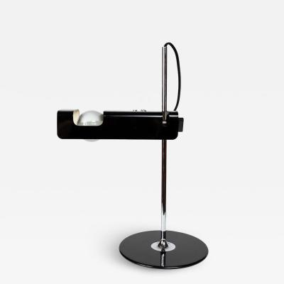 Oluce Joe Colombo Model 291 Spider Table Lamp in Black for Oluce