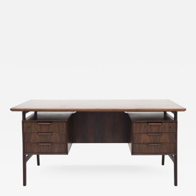 Omann Jun Model 75 Desk in Rosewood