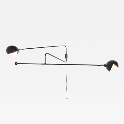 Orange Furniture French Articulating Double Zig Zag Light Sconce