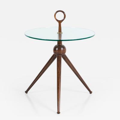 Orange Furniture Italian Tripod Side Table