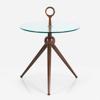 Orange Furniture Italian Tripod Table