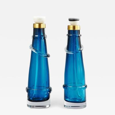 Orrefors A Pair of Table lamps by Orrefors