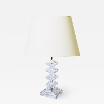 Orrefors Crystal lamp by Orrefors