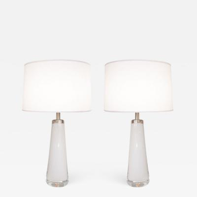 Orrefors Orrefors White Clear Crystal Lamps
