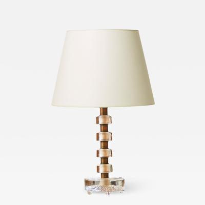Orrefors Table lamp by Carl Fagerlund for Orrefors