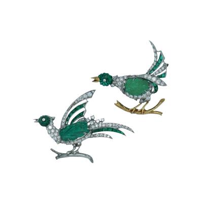 Oscar Heyman Brothers Oscar Heyman Fabulous Bird Pins