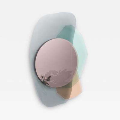 Oskar Peet Sophie Mensen Glass Repeated Mirror I by Oskar Peet and Sophie Mensen