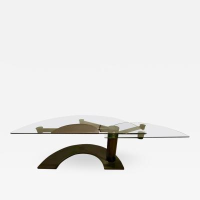Pace Collection Pace Arkitre Desk 450 Design Pierfranco Bagarotti