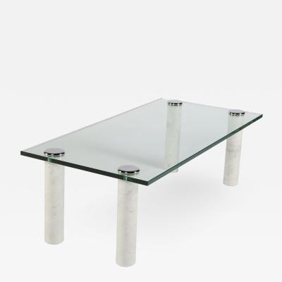 Pace Collection Pace Marble and Glass Cocktail Table