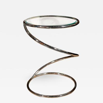 Pace Collection Pace Spiral Drinks Table