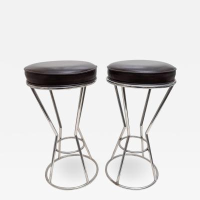 Pace Collection Pair of Bar Stools