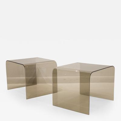 Pace Collection Pair of Pace Collection Side Tables