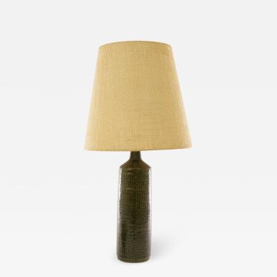 Palshus Green DL 27 XL table lamp by Linnemann Schmidt for Palshus 1960s
