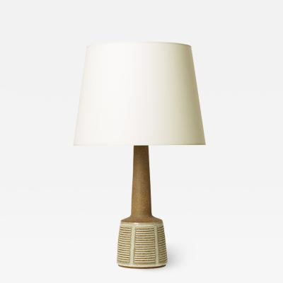 Palshus Table lamp with intaglio pattern and by Palshus
