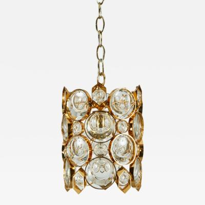 Palwa Crystal Pendant with Hexagon Details by Palwa