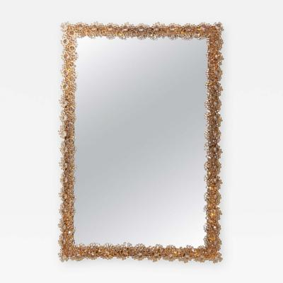Palwa Outstanding Square Illuminated Palwa Crystal Glass Mirror Model S100W