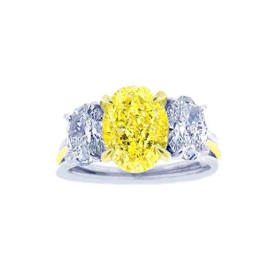 Pampillonia Canary diamond ring