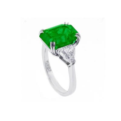 Pampillonia Gem Colombian Emerald Ring
