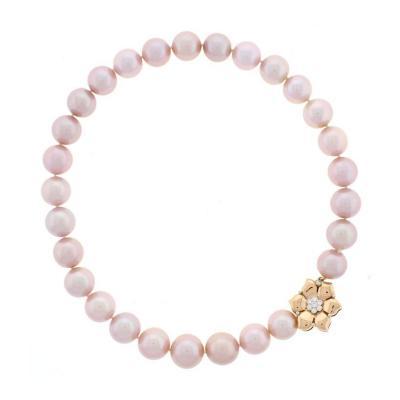 Pampillonia Natural Pink Pearl Necklace