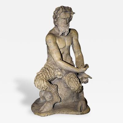 Pan Satyr Mythological Garden Stone Figure