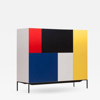 Pastoe Mondriaan De Stijl Cabinet for Pastoe