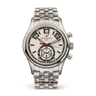 Patek Philippe Co Gents SS Patek 5960A Perpetual Calendar Chronograph Pre Owned