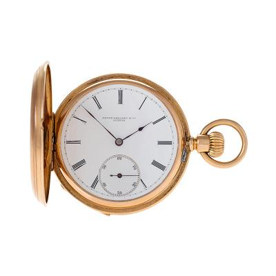 Patek Philippe Co Gold Stem Wound Pocket Watch by Patek Philippe