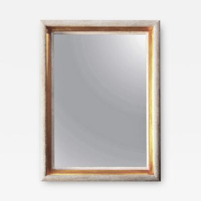 Paul Marra Design Cove Mirror in Driftwood Finish with Gold