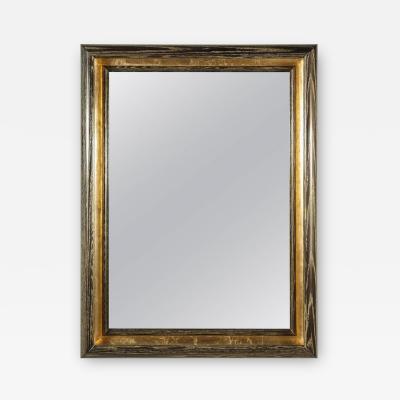 Paul Marra Design Cove Mirror in Dutch Gold and Cerused Oak