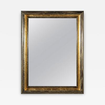 Paul Marra Design Cove Mirror in Gold Ceruse by Paul Marra