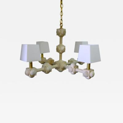 Paul Marra Design Foursquare Chandelier by Paul Marra