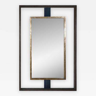 Paul Marra Design Negative Space Mirror Distressed Finish with Horsehair