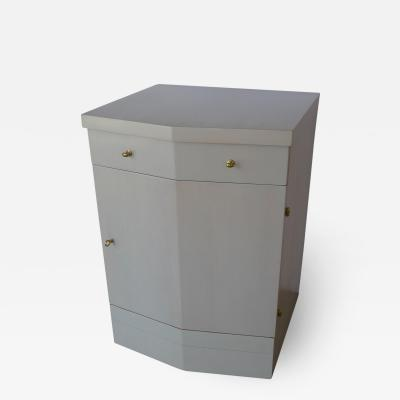 Paul Marra Design Pinnacle Nightstand in Gray Wash Over Douglas Fir