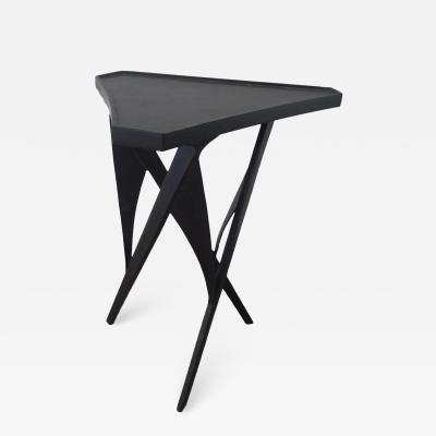 Paul Marra Design Triangular Steel Side Table