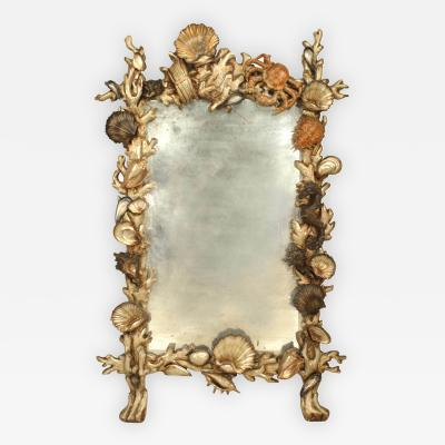 Pauly Co Italian Venetian Grotto 19th Cent Wall Mirror