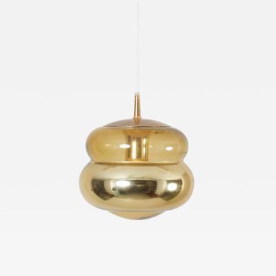 Peill Putzler 1970s Glass Pendant Lamp by Peill Putzler